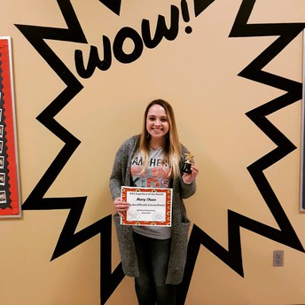 February Staff Superhero of the Month