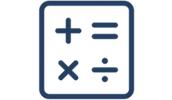 square with math symbols inside