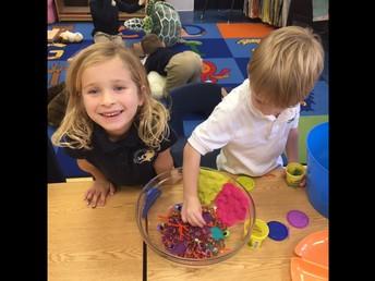 Play-doh center
