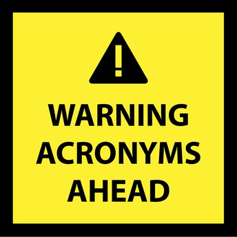Speaking of Acronyms