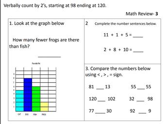 Math Review #3