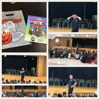 Halloween Safety with Sgt Manning