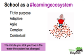 Agile Ecosystems in Schools
