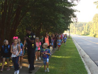 Walk to School Wednesday!