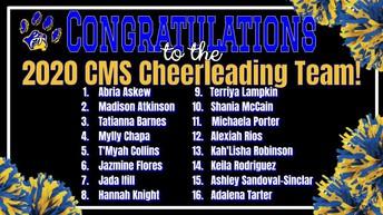 CMS Cheer Team