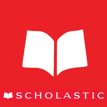 This is an icon of the Scholastic company and a link to its Learn At Home website.