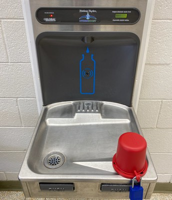 Water Bottle Station