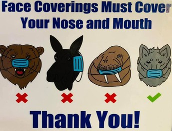 Updated Face Coverings Guidance: