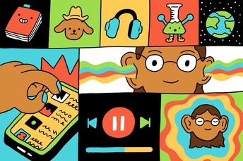 A Big List of Podcasts for Bigger Kids