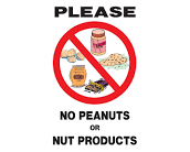 Snack Allergy Policy