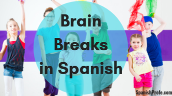 Brain Breaks in Spanish
