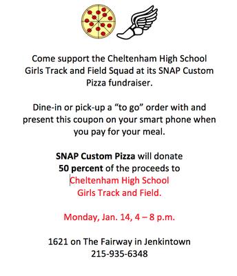 CHS Girls Track Fundraiser