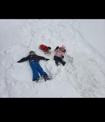 Snow Angels!