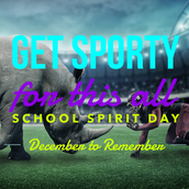 Thurs. - Stay Sporty!