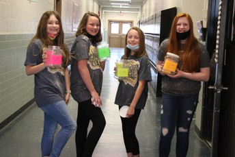 CMS Student Council Raises Money for Fultondale Tornado Relief and Other Causes
