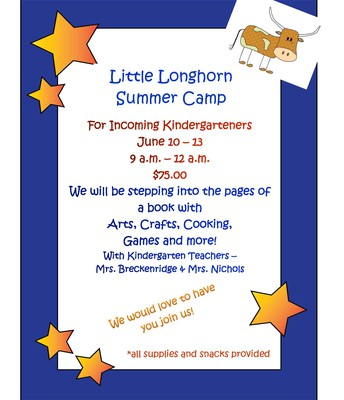 Little Longhorn Kdg Camp