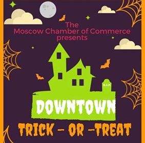 Moscow's Downtown Trick-or-Treat