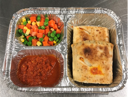 Hot Meals and  Take and Heat Meals Available