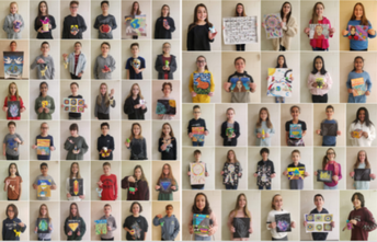 Attention! Students Who Entered Last Spring's 2020 Art Show....