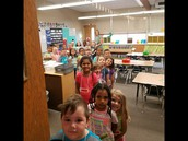 """Kindergartners are Learning How to """"Do"""" School"""