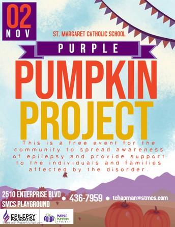 St. Margaret's Purple Pumpkin Project