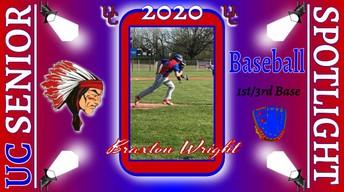 UC Class of 2020 Braxton Wrightl