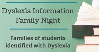 Dyslexia Info Night!