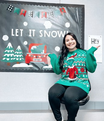 Miss Bermea - Ugly Sweater Day