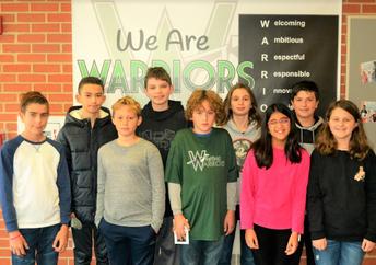 Warriors of the Week