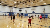 Volleyball practice began this week
