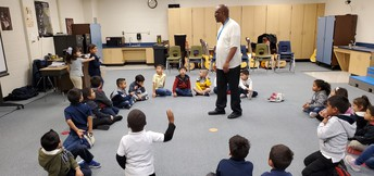 Music Practice with Mr. Gentry.