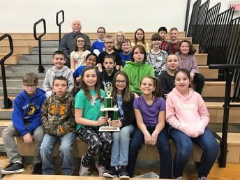 Mr. Spencer's Class - Best 4th Grade Attendance