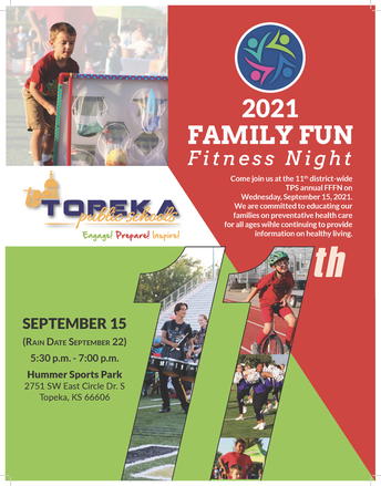 Join Us For Our Annual Family Fun Fitness Night on September 15!