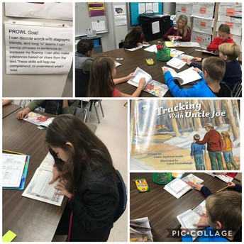 4th grade with decodables during PROWL and comprehension