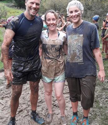 Puke Haupapa Teachers after the Mud Run