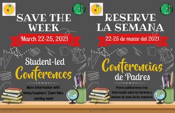 Student Led Parent Conferences