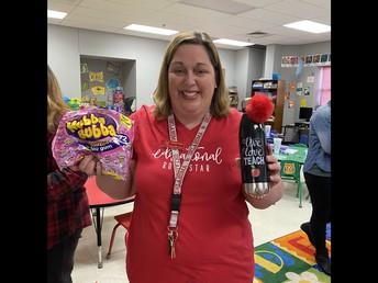Ms. Thomas, Prize Winner!