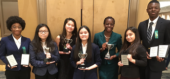 Albright and Olle Middle School competed at the National Speech and Debate Association's Middle School National Tournament.