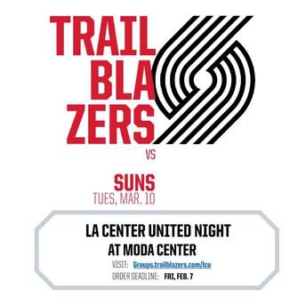 La Center United Night at Moda Center