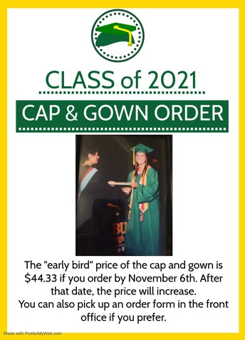 Cap & Gown Orders