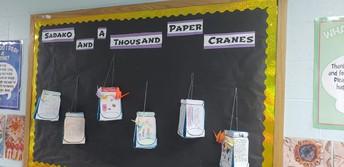 4th grade  Sadako and Thousand Paper Cranes