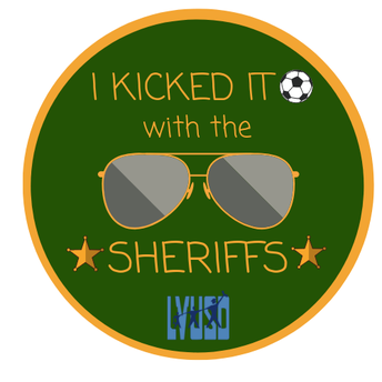 LVUSD Students Play Kickball with LA County Sheriff's Department