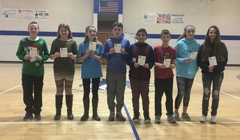 HMS 6th Grade Students of the Month