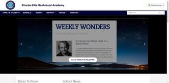 Ellis Montessori Academy Website