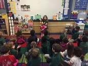 Sofie's share during morning meeting