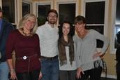 Cheryl, Daniel, Kristen, Tracy