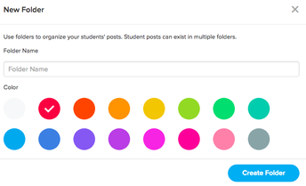 Create New Folders with Color Codes!