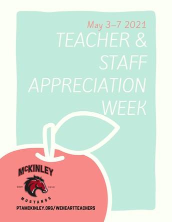 Show Our Teachers Your Appreciation!