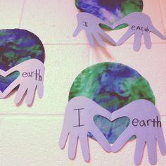 Earth day handprint