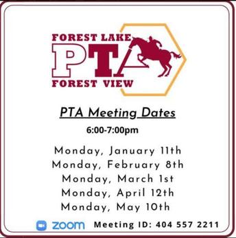 Get involved in PTA!